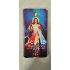Capinha para celular - Samsung J7 Prime - R 67 - Jesus Misericordioso