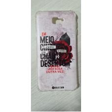 Capinha para celular - Samsung J7 Prime - Rosa de Saron 25