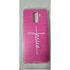 Capinha para celular - Samsung J8 / A6 Plus - R 188 - Jesus