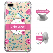 Kit Capinha com Pop-selfie - Flores 04
