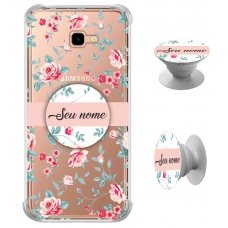 Kit Capinha com Pop-selfie - Flores 05