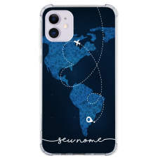 Capinha para celular - Mapa Mundi - 01