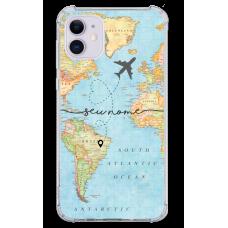 Capinha para celular - Mapa Mundi - 02