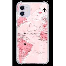 Capinha para celular - Mapa Mundi - 03