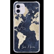 Capinha para celular - Mapa Mundi - 05