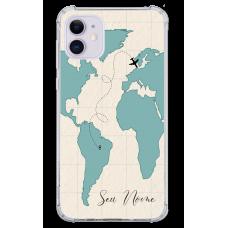 Capinha para celular - Mapa Mundi - 07