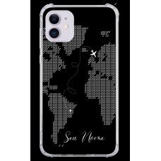 Capinha para celular - Mapa Mundi - 08