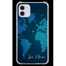 Capinha para celular - Mapa Mundi - 09