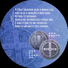 Mousepad Redondo 20x20cm - Religioso 15