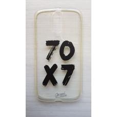 Capinha para celular - Motorola G4 / G4 Plus - 70x7 (transparente) preto