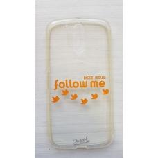 Capinha para celular - Motorola G4 / G4 Plus - Follow me (transparente)