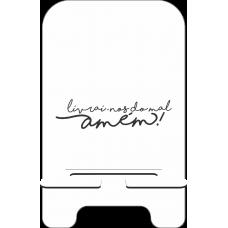 Porta-Celular Personalizado - Religião 06 - Livrai-nos do mal