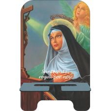 Porta-Celular Personalizado - Religião 103 - Santa Rita