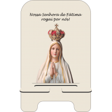 Porta-Celular Personalizado - Religião 106 - N.S Fatima
