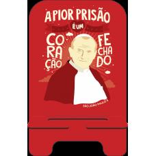Porta-Celular Personalizado - Religião 111 - Papa JP II