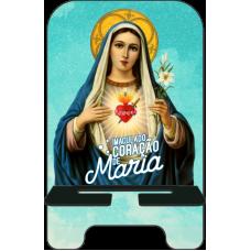 Porta-Celular Personalizado - Religião 116 - IMACULADO CORAÇÃO DE MARIA