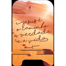 Porta-Celular Personalizado - Religião 13 - Caminho, verdade e a vida
