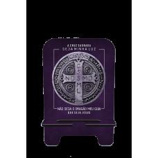 Porta-Celular Personalizado - Religião 147 - MEDALHA DE SÃO BENTO