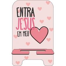 Porta-Celular Personalizado - Aline Brasil 13 - Entra Jesus