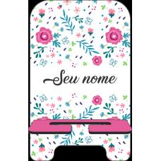 Porta-Celular Personalizado - Flores 01