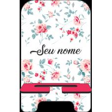 Porta-Celular Personalizado - Flores 02
