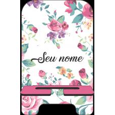 Porta-Celular Personalizado - Flores 03