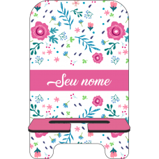 Porta-Celular Personalizado - Flores 04