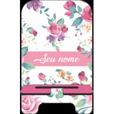 Porta-Celular Personalizado - Flores 06