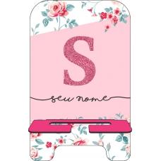 Porta-Celular Personalizado - Flores 08