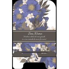 Porta-Celular Personalizado - Flores 16