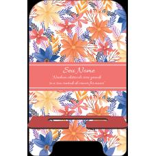 Porta-Celular Personalizado - Flores 19