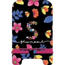 Porta-Celular Personalizado - Flores 21