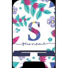 Porta-Celular Personalizado - Flores 24