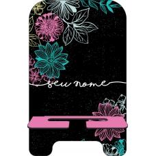 Porta-Celular Personalizado - Flores 25