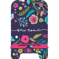 Porta-Celular Personalizado - Flores 26