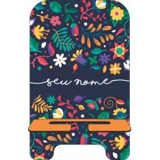 Porta-Celular Personalizado - Flores 27