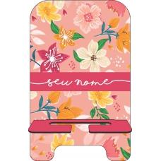Porta-Celular Personalizado - Flores 34