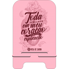 Porta-Celular Personalizado - Rosa de Saron 29