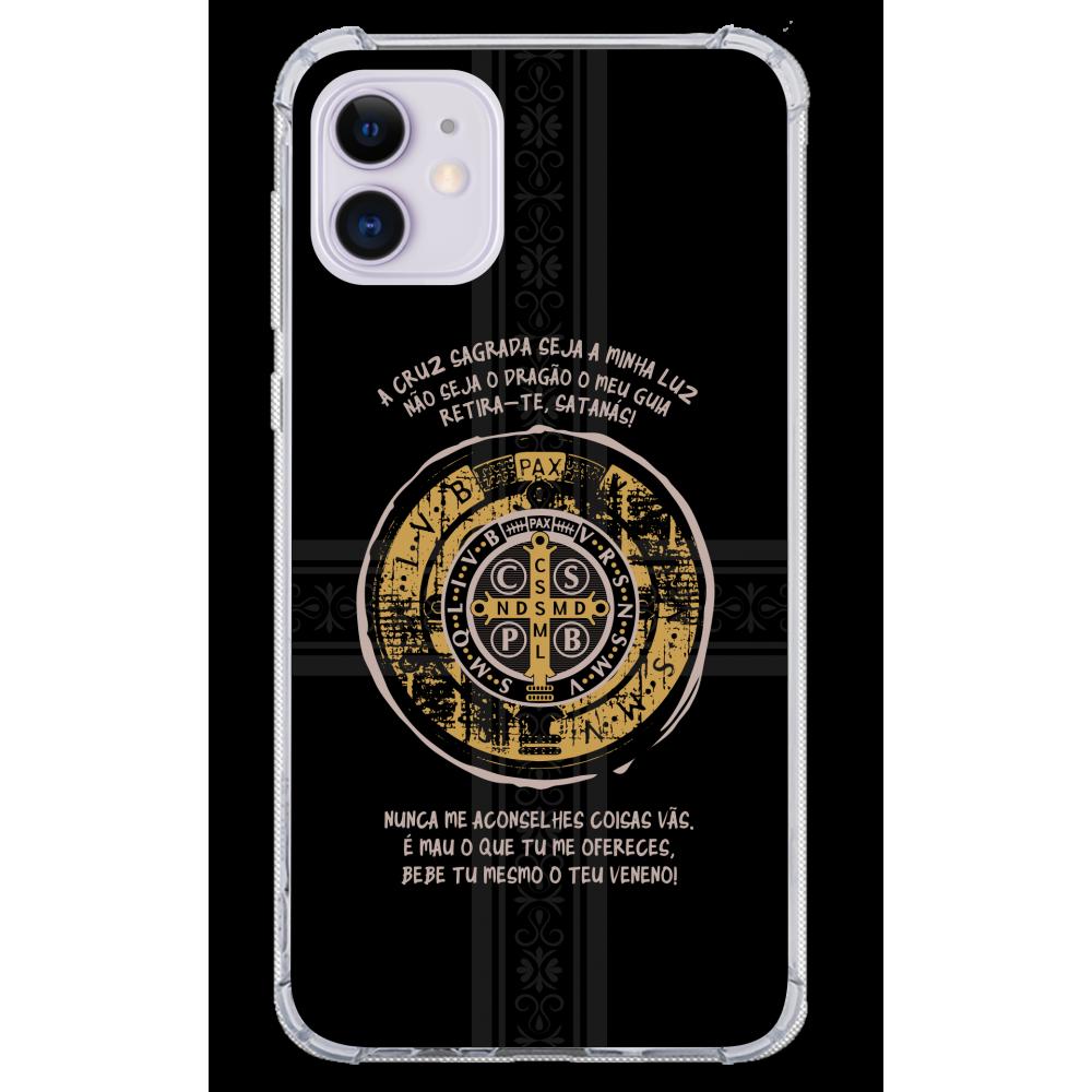 Capinha para celular - Religiosa 207 português - Medalha de São Bento