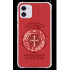 Capinha para celular - Religiosa 209 - Medalha de São Bento - Portugues