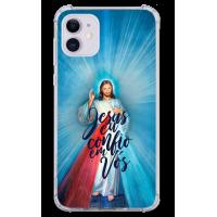 Capinha para celular - Religiosa 216 - Jesus eu confio em nós