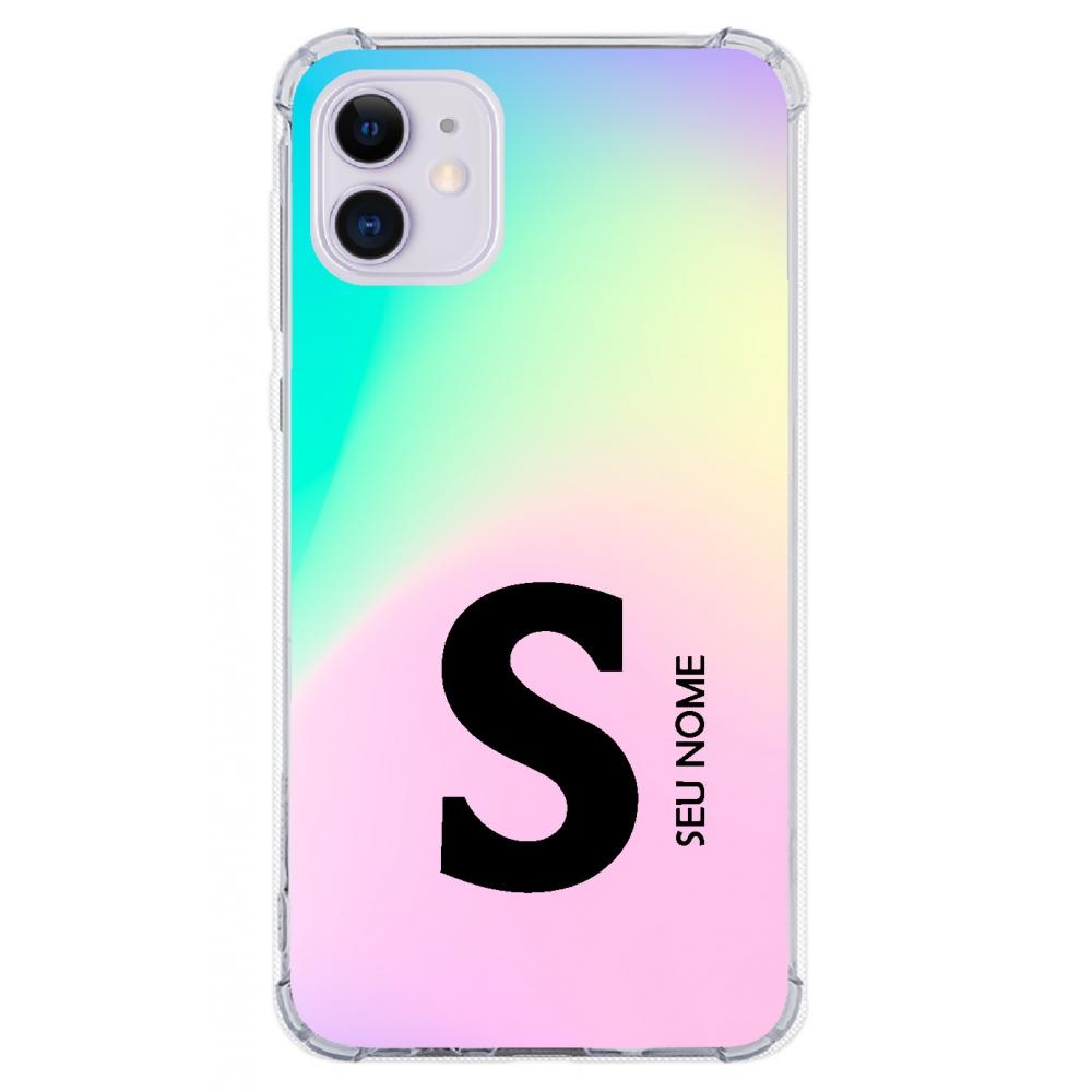 Capinha para celular - Colors 02 - Personalizada com nome