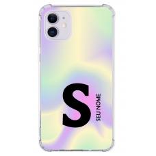 Capinha para celular - Colors 14 - Personalizada com nome